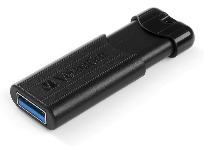 Verbatim USB 3.0 Flash Drive 32GB Pinstripe 49317