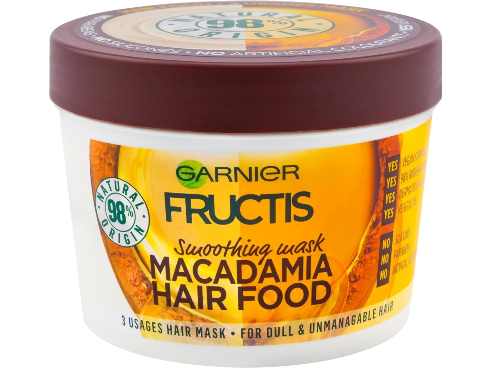 Garnier Fructis Maska Hair Food Macadamia 390ml