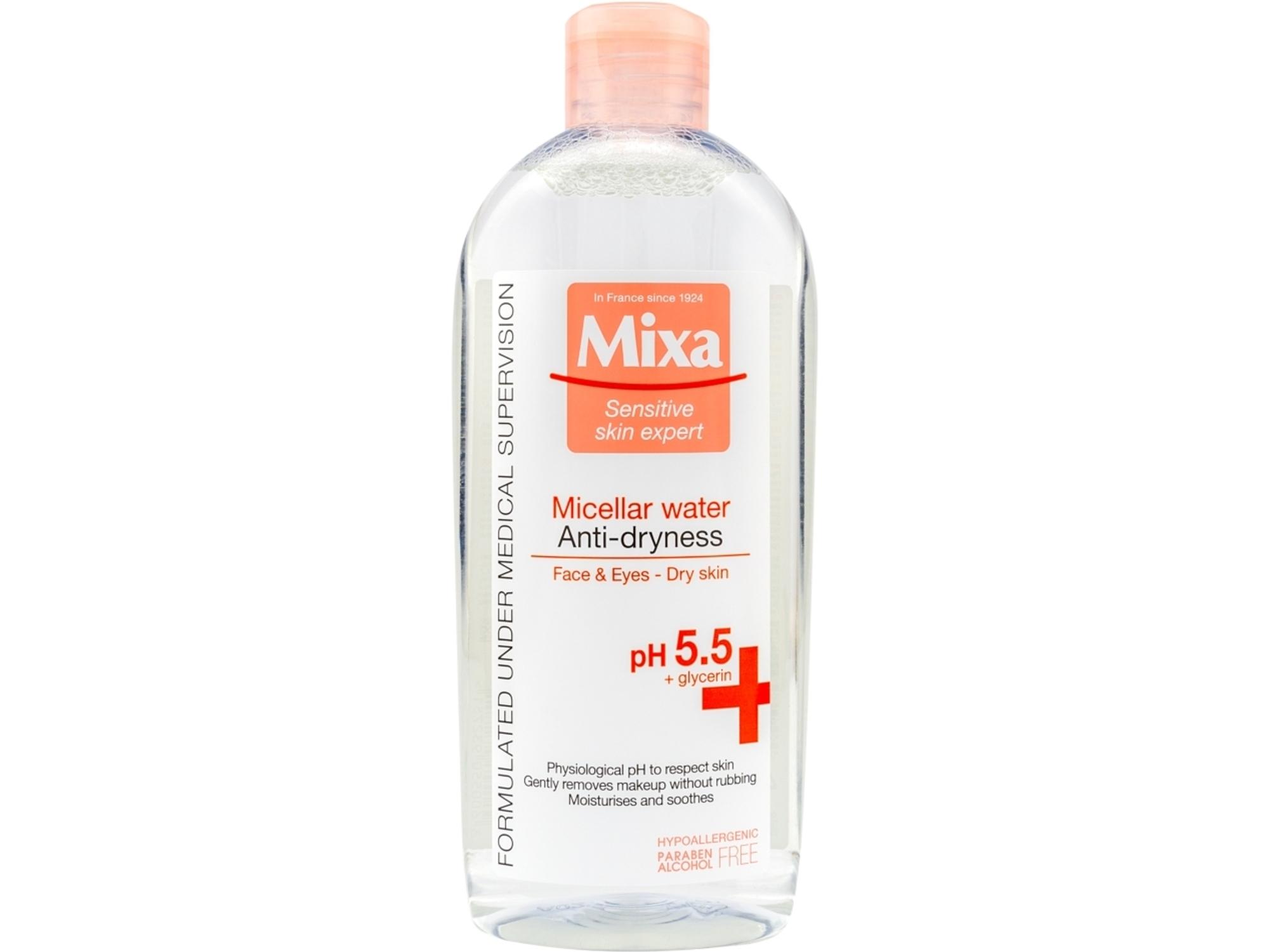 Mixa Micelarna Voda za osetljivu i suvu kožu 400ml