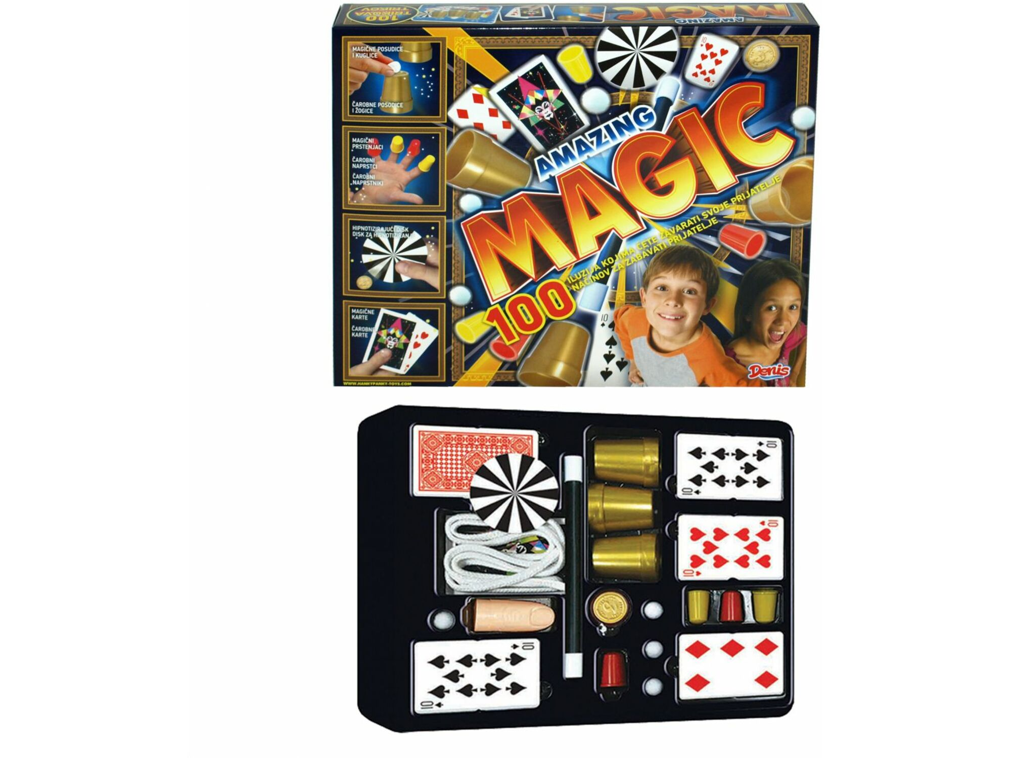 Amazing Magic 100 trikova 05-838000