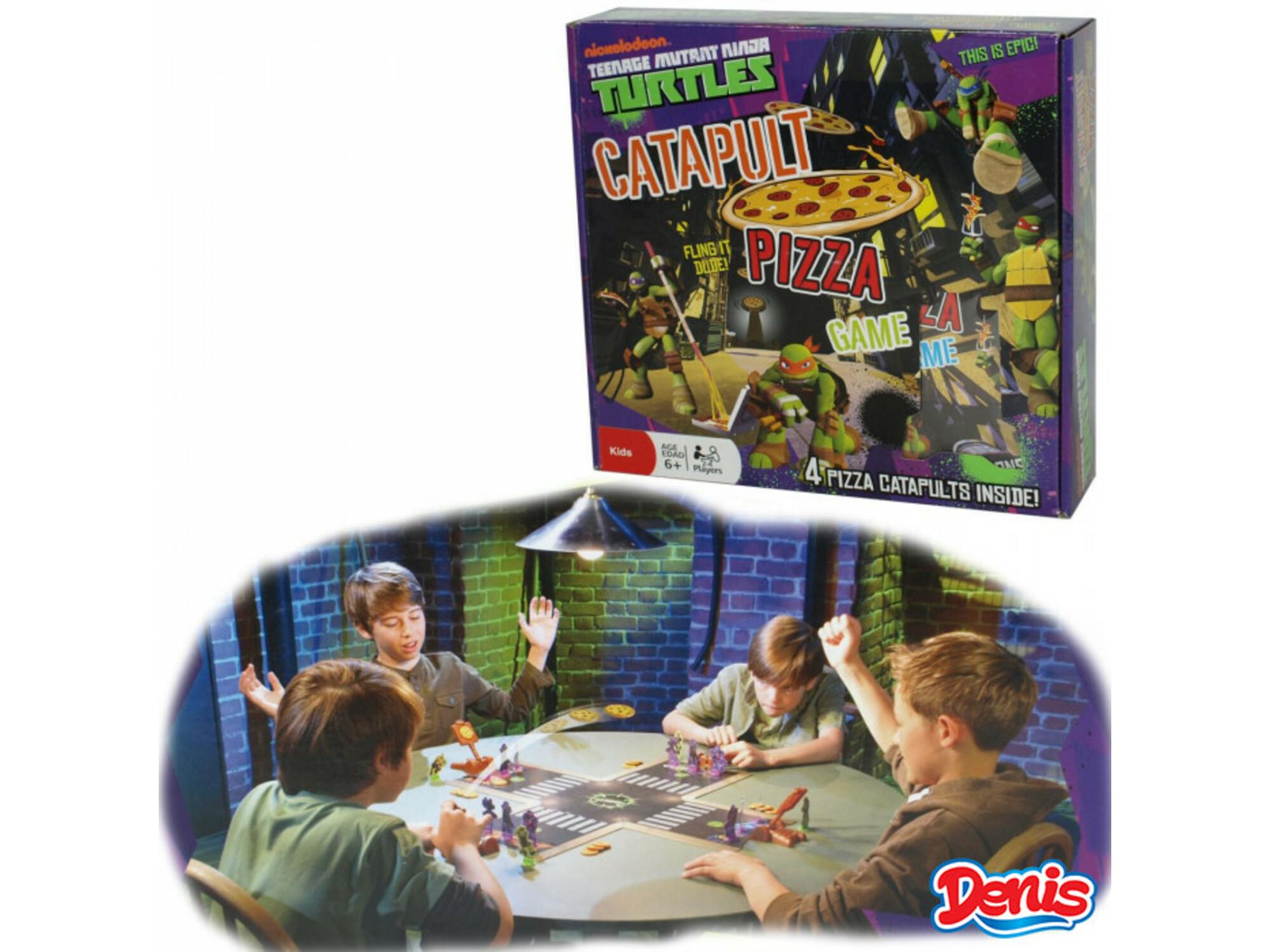 TMNT Catapult Pizza Game 05-932000