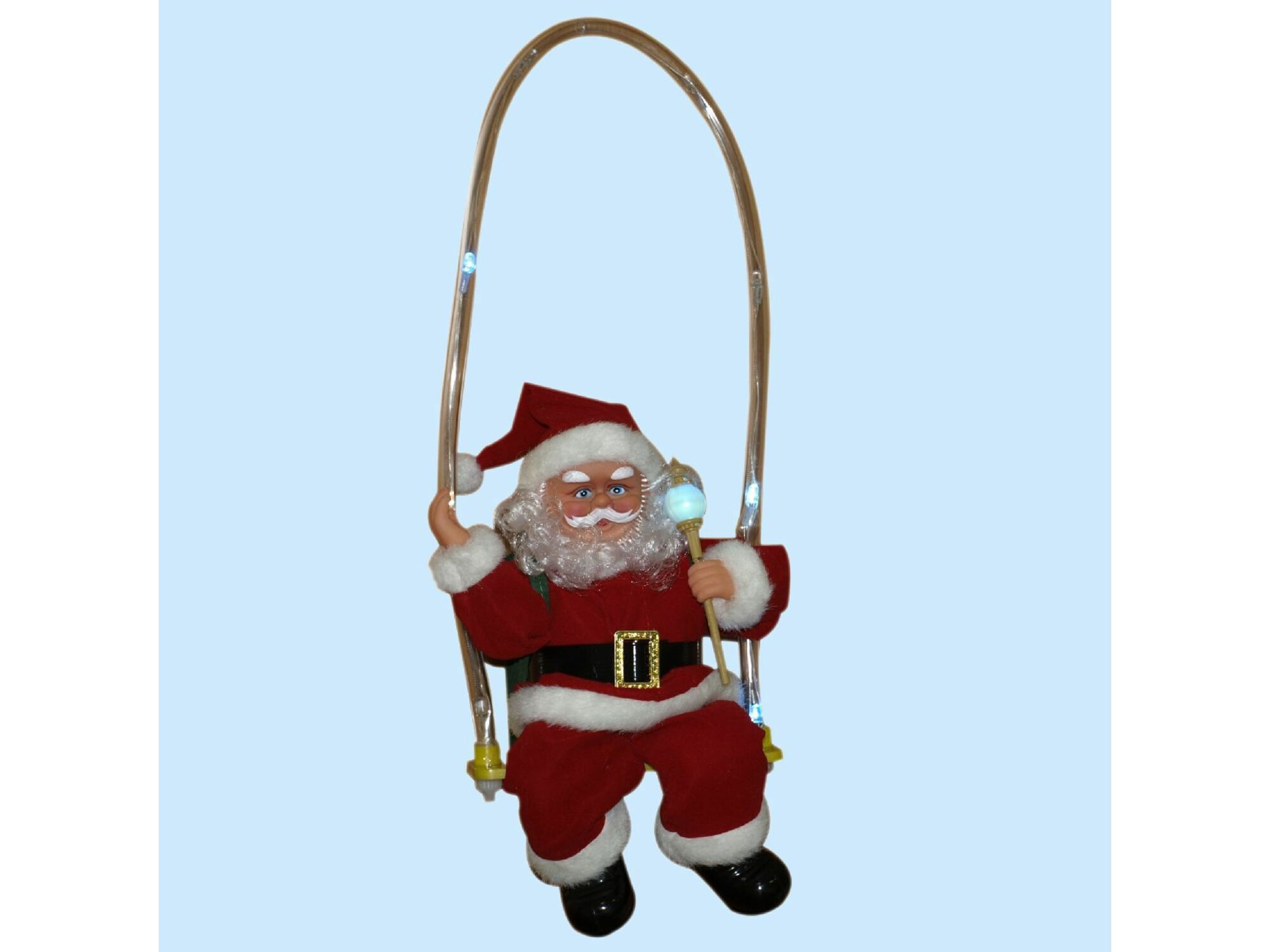 Deda Mraz na bat.LED 30cm 41-875000