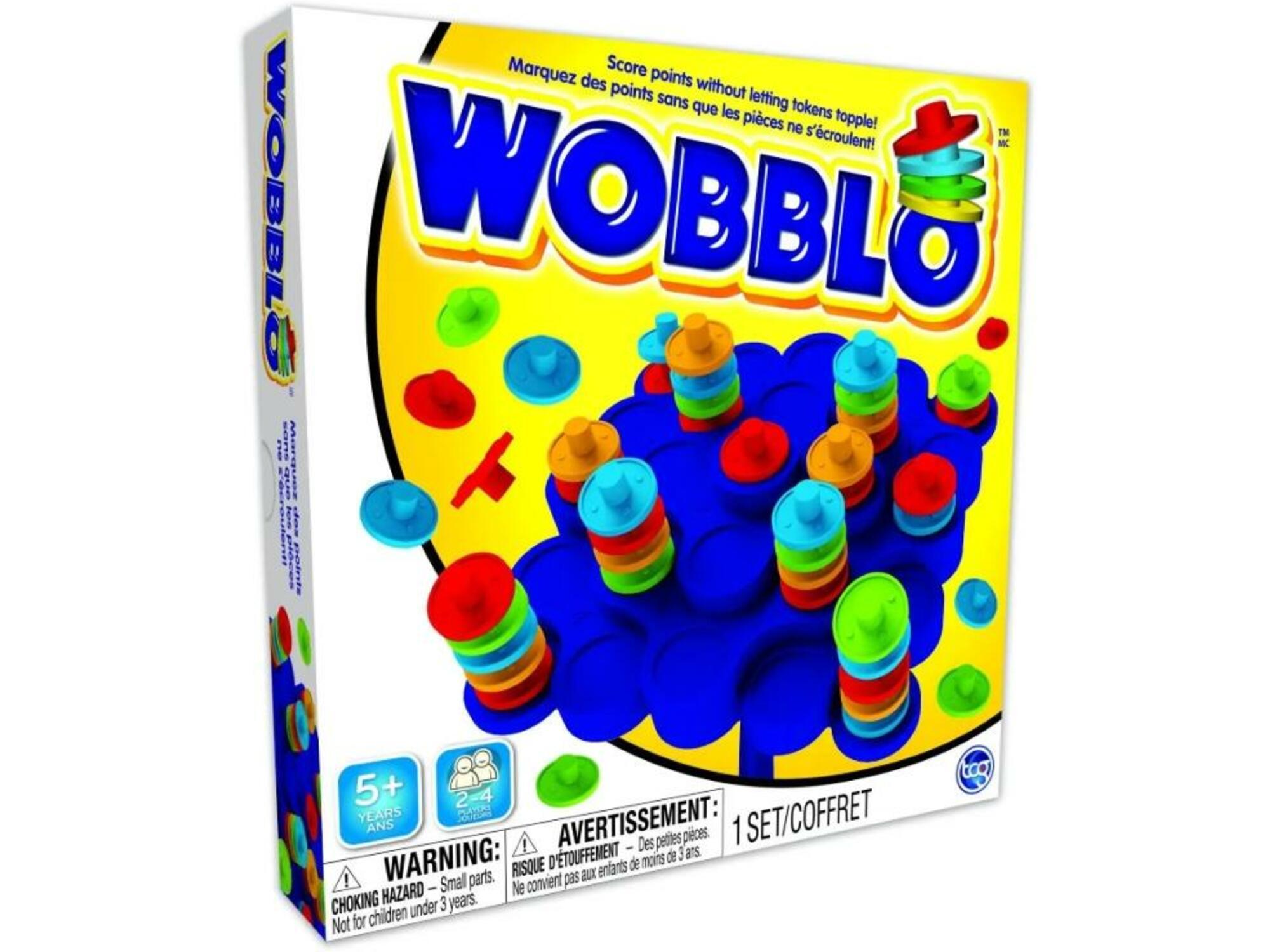 TCG družabna igra Wobblo 3858889579141