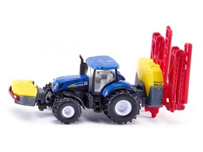 Siku New Hollan traktor sa masinom za prskanje 1799