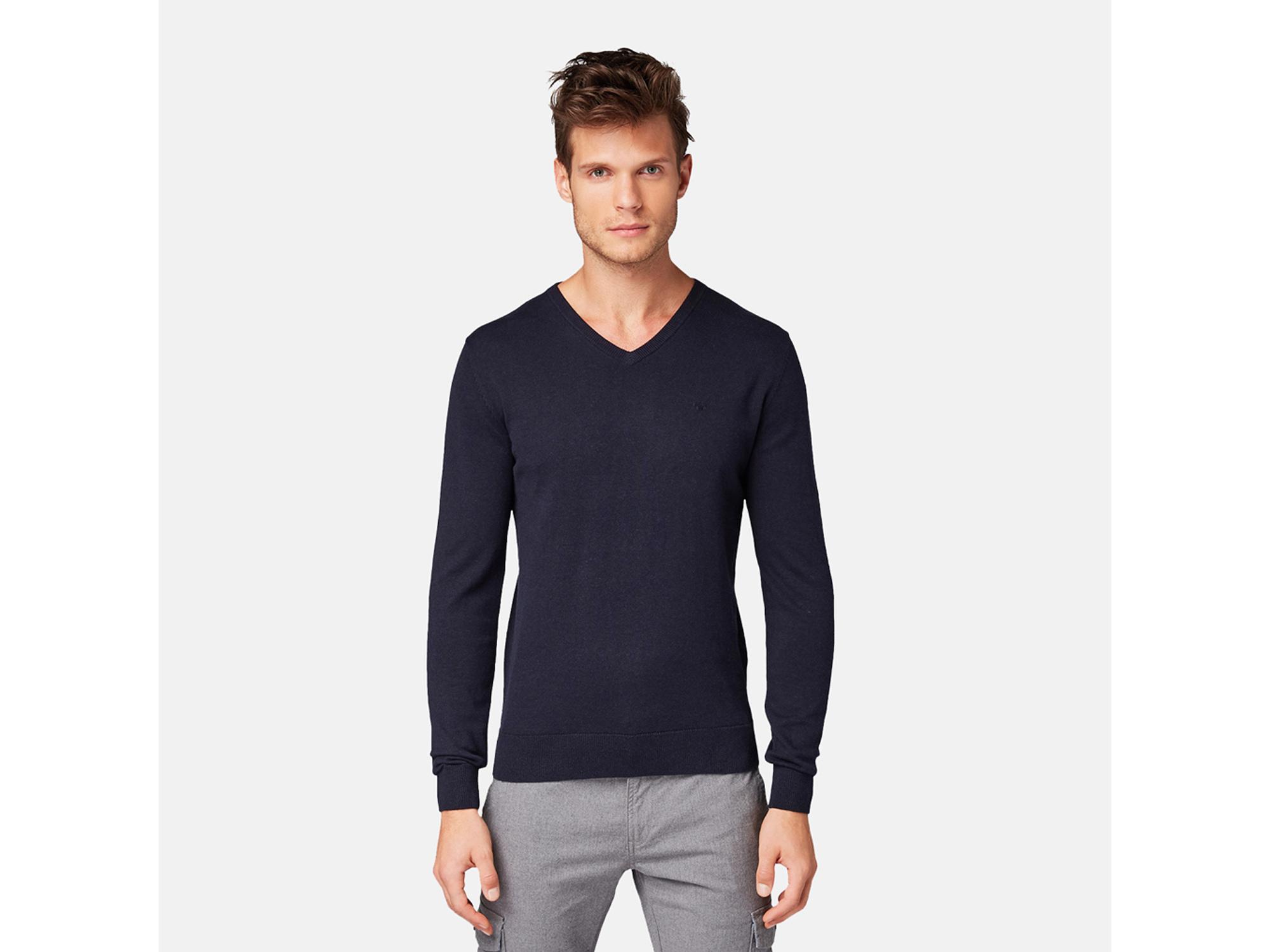 Tom Tailor Muški džemper 30101282010