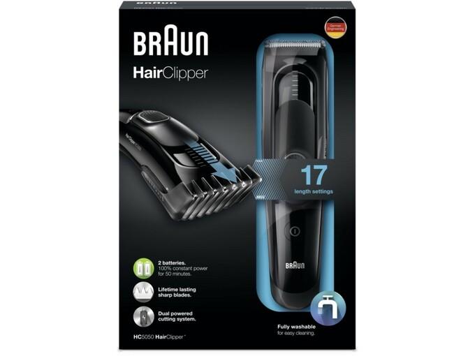 BRAUN strižnik za lase HC5050 4210201135555