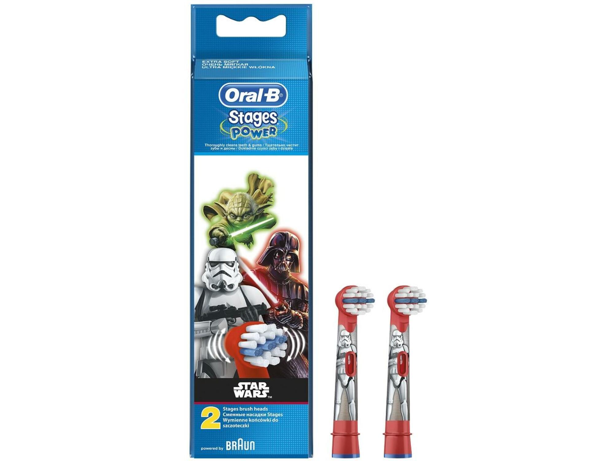 ORAL B nastavek za zobno ščetko 2/1 Stages Power Star Wars 4210201161196
