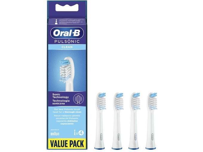 ORAL B nadomestni nastavek Pulsonic Clean 4/1 4210201299851