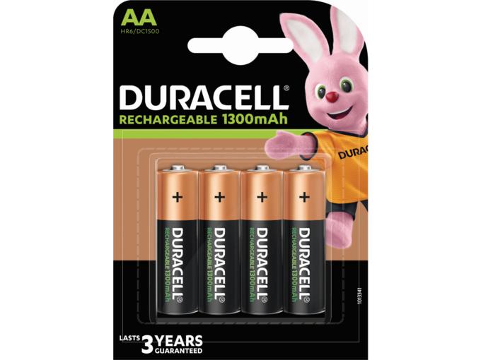 DURACELL polnilna baterija 1300 mAh AA K4