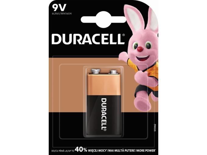 DURACELL baterija BASIC 9V (6LR61) 5000394077225