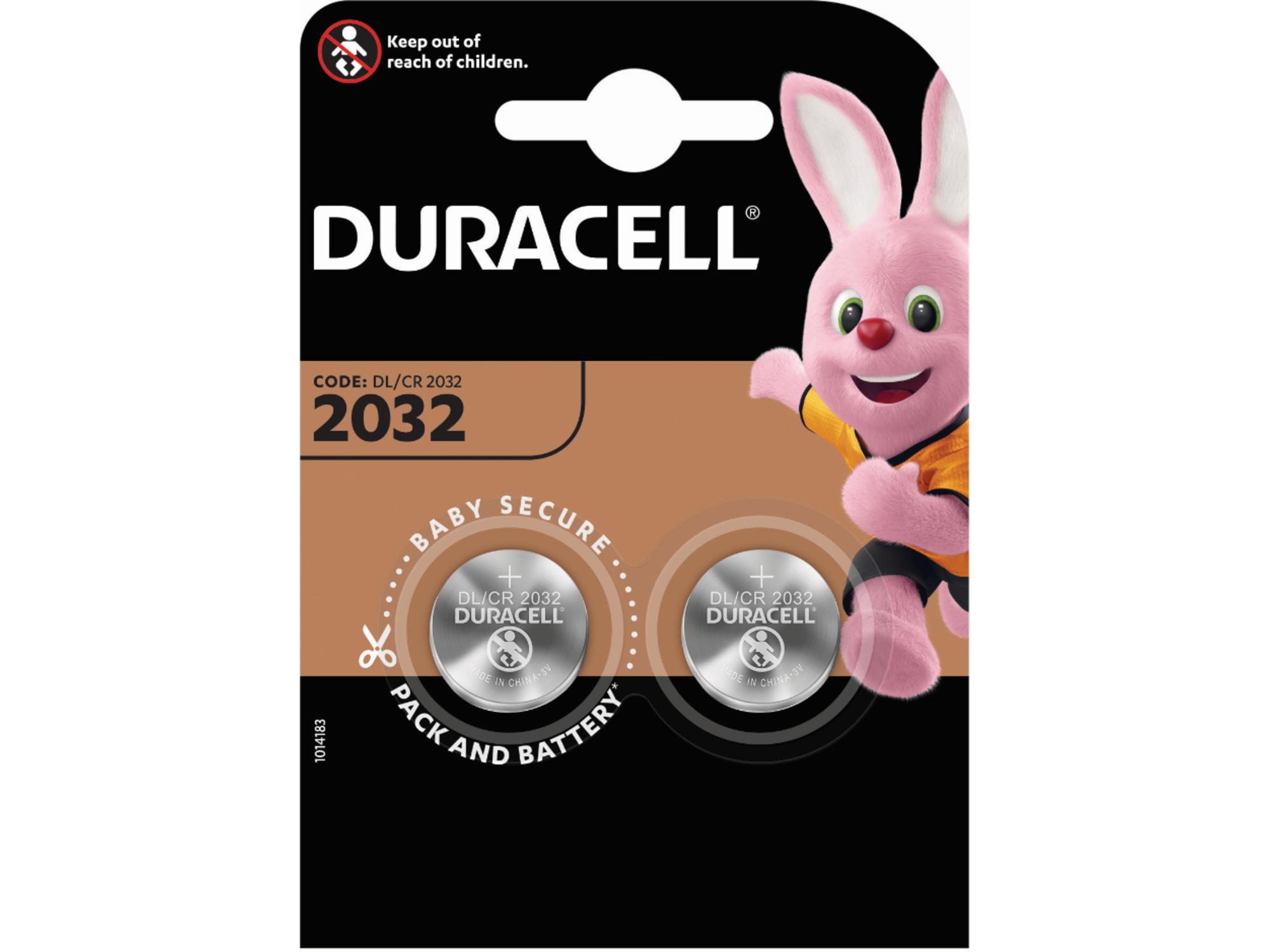DURACELL specialna baterija 2032 2/1