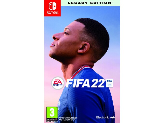 ELECTRONIC ARTS Igra FIFA 22 - Legacy Edition (Nintendo Switch)