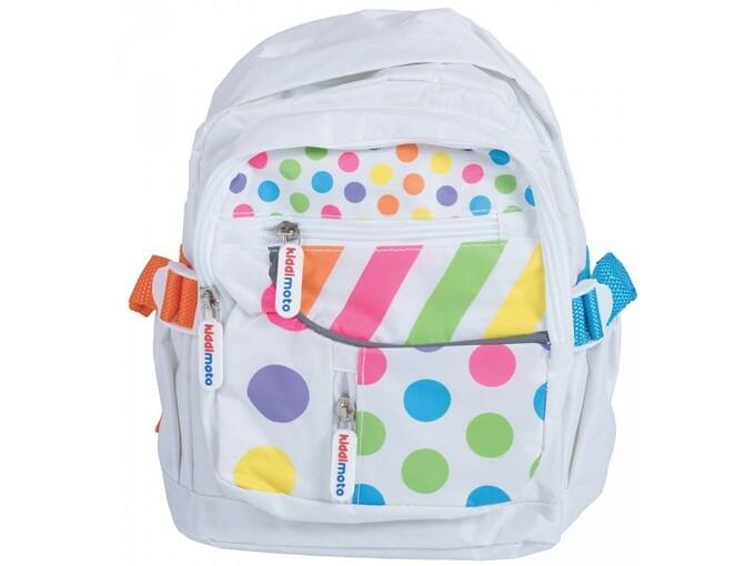 KIDDIMOTO otroški nahrbtnik Pastel Dotty S B PD-S