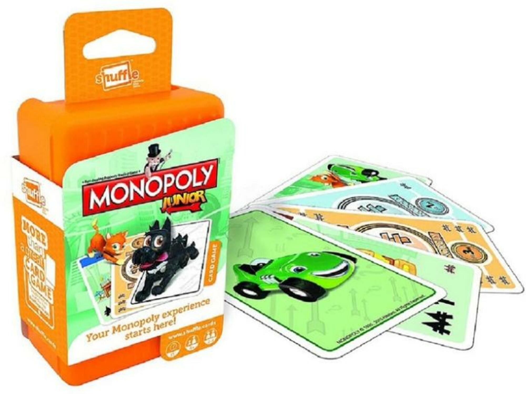 CARTAMUNDI potovalni monopoly (karte) Junior 5411068027994
