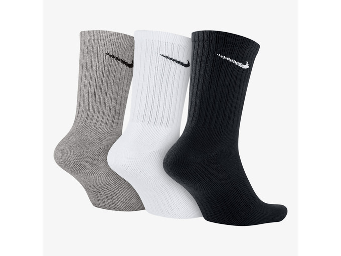 Nike Muške čarape 3PPK Value Cotton Crew SX4508-965