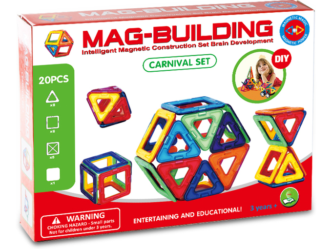 MagBuild Magične magnetne pločice GBL 20