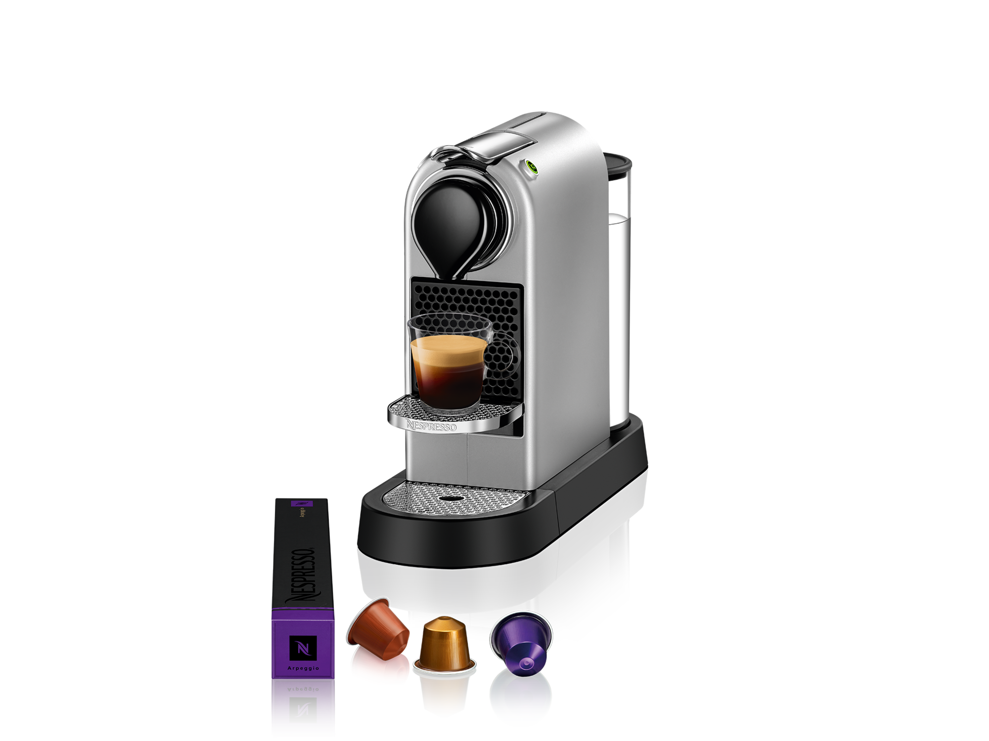 Nespresso Aparat za kafu Citiz Silver C113-EUSINE-S