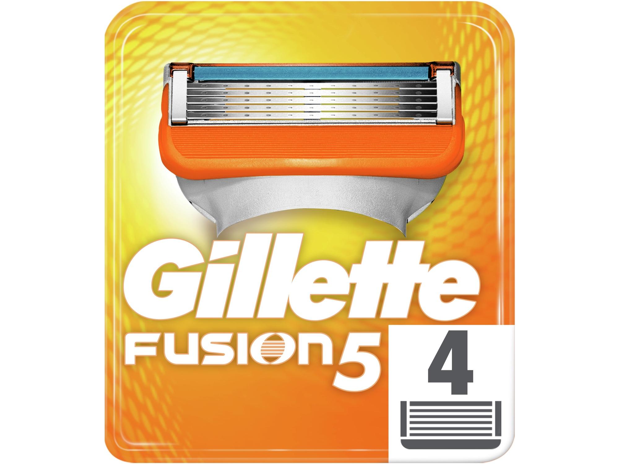 GILLETTE nadomestni nastavki Fusion 4 kos 7702018866984
