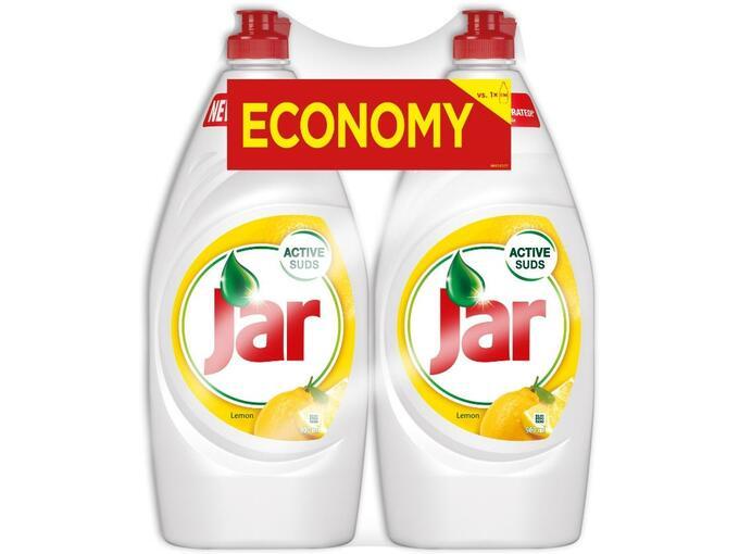 JAR detergent za ročno pomivanje posode Lemon 2x900 ml 8001090198068