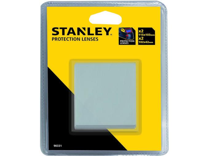STANLEY 4-delni set stekel za varilno masko 90331