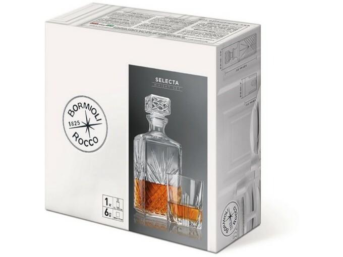Bormioli Set za viski Selecta 7/1 226041