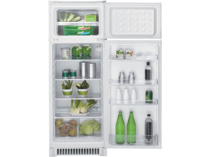 Candy vgradni hladilnik z zamrzovalnikom zgoraj CFBD 2450/2 E