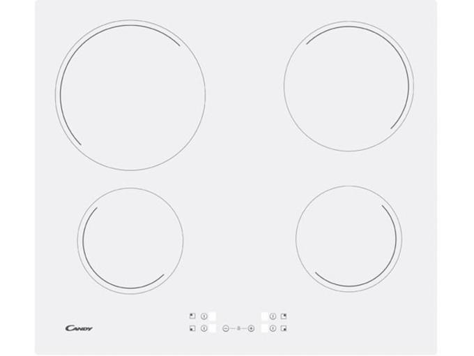 Candy steklokeramična kuhalna plošča CH64CCW