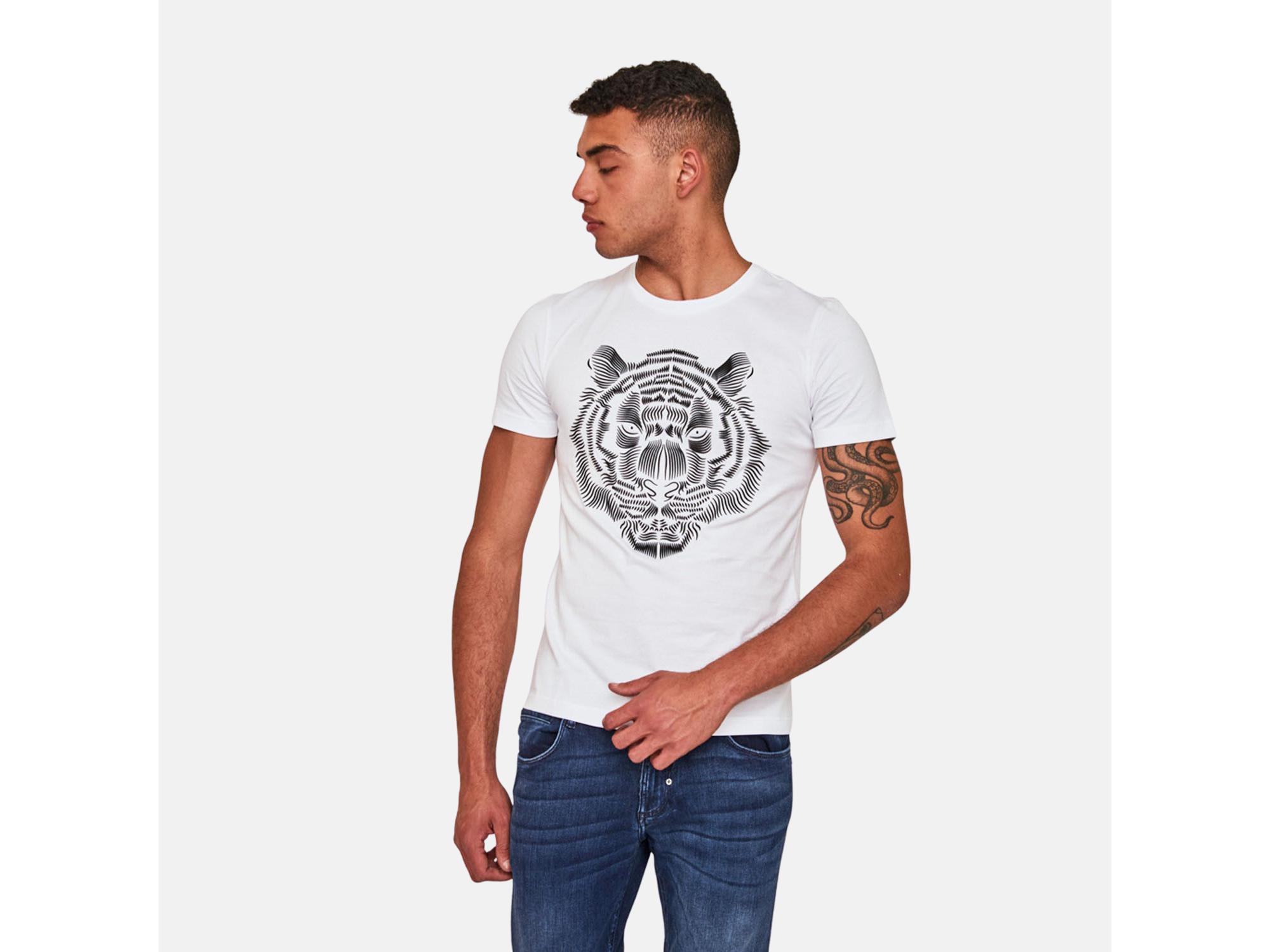 Antony Morato Moška majica kratek rokav MMKS01919FA100227