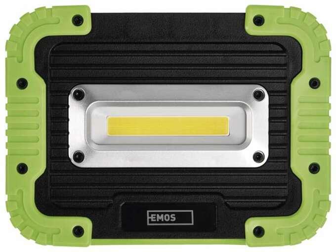 EMOS polnilna LED delovna svetilka 5 W COB, 600 lm, 3000 mAh P4534