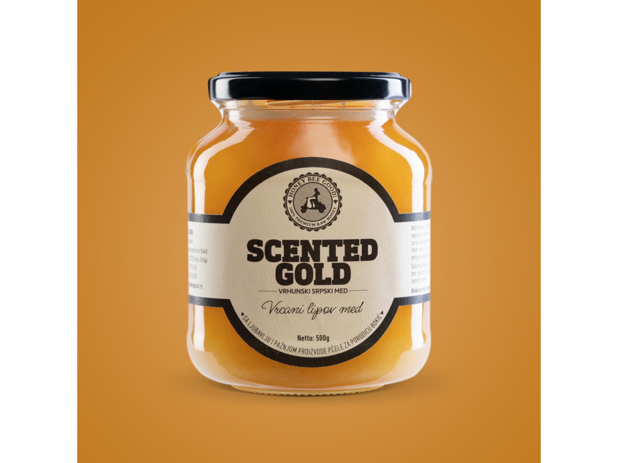 Honeybeegood Sirovi lipov med 500g