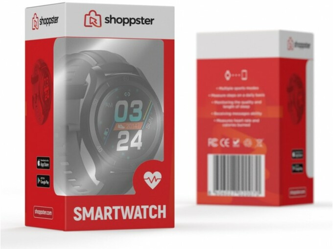Shoppster pametna ura moška 8606027020070