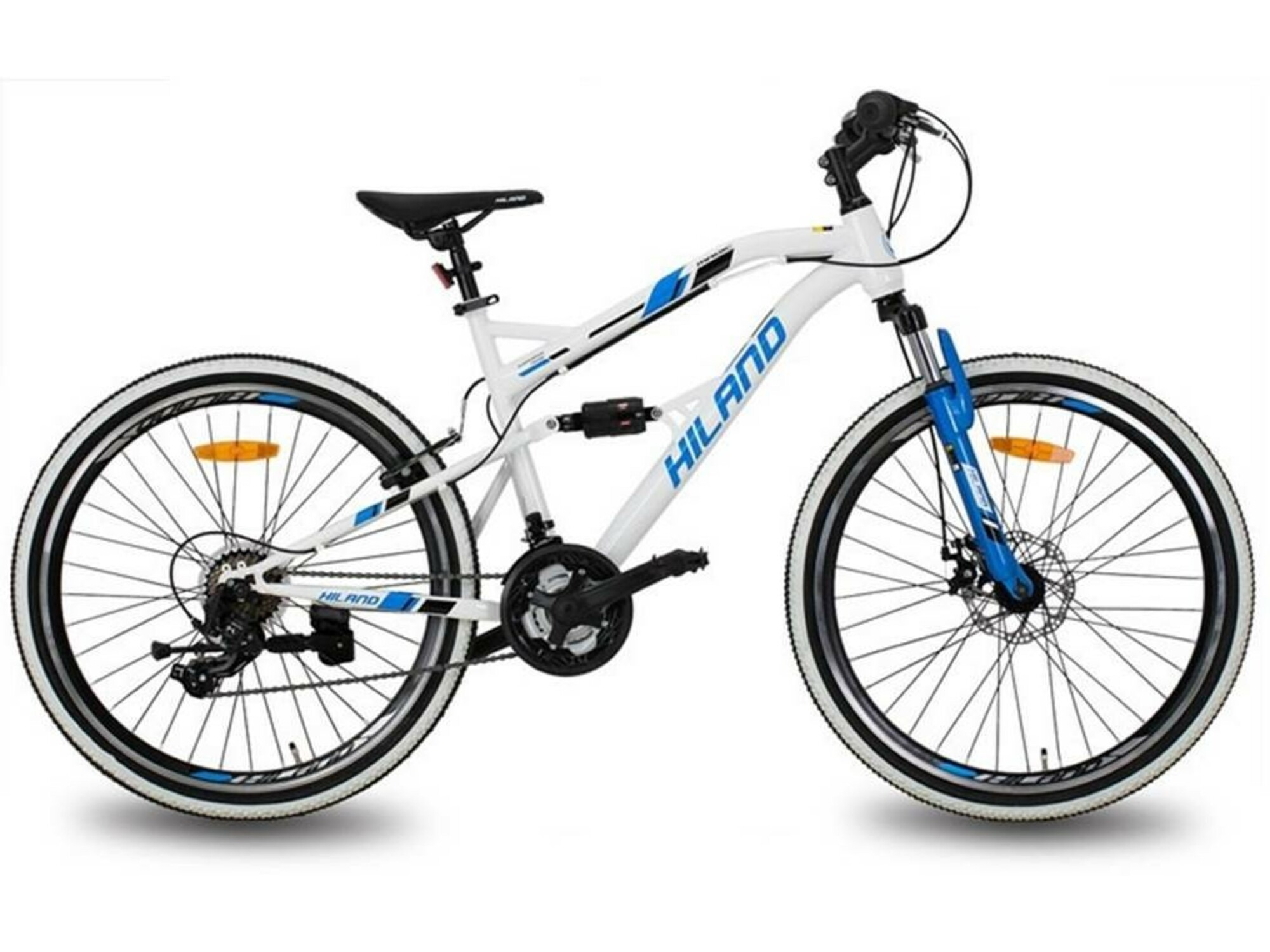 Hiland Bicikl Dirt Jump HIS008WH-26