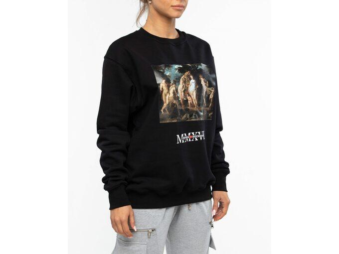 SD Hedonism Black Sweatshirt - Ženska dukserica