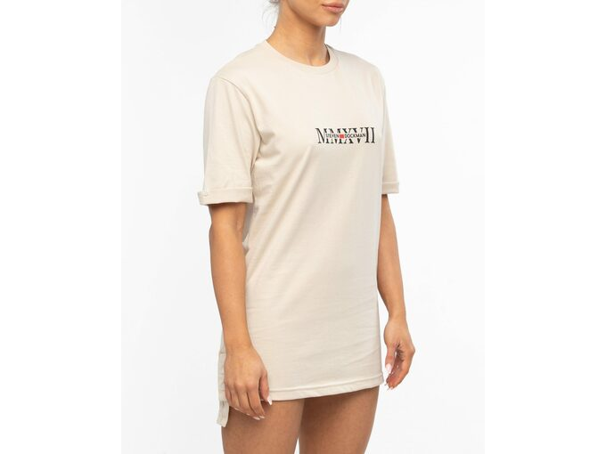 SD Hedonism Beige T-shirt - Ženska majica
