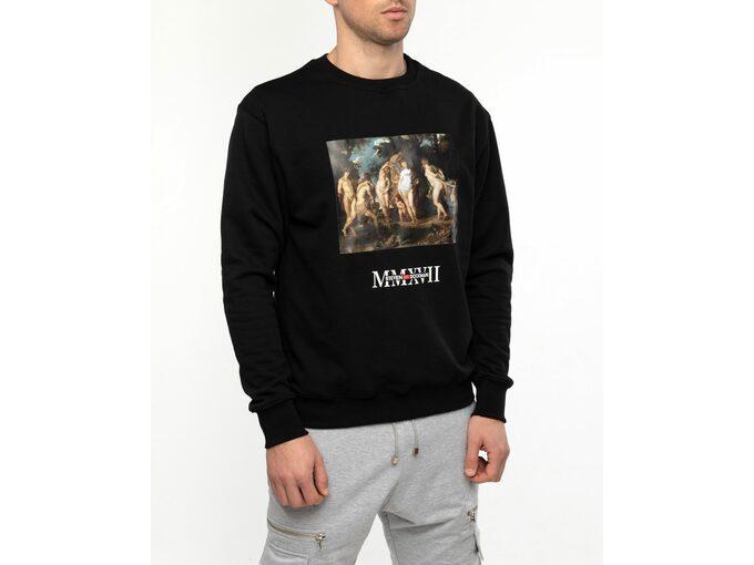 SD Hedonism Black Sweatshirt - Muška dukserica