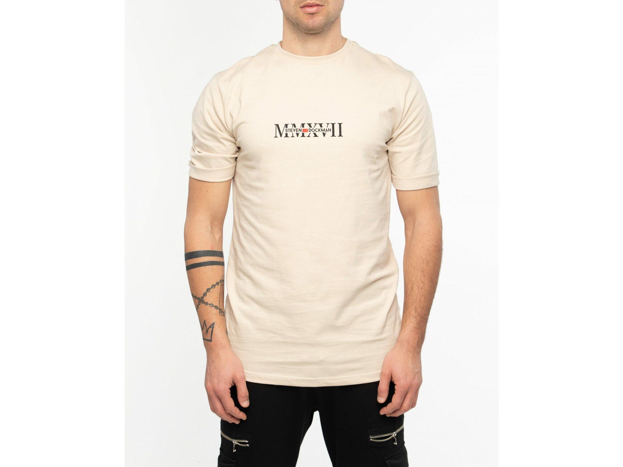 SD Hedonism Beige T-shirt - Muška majica