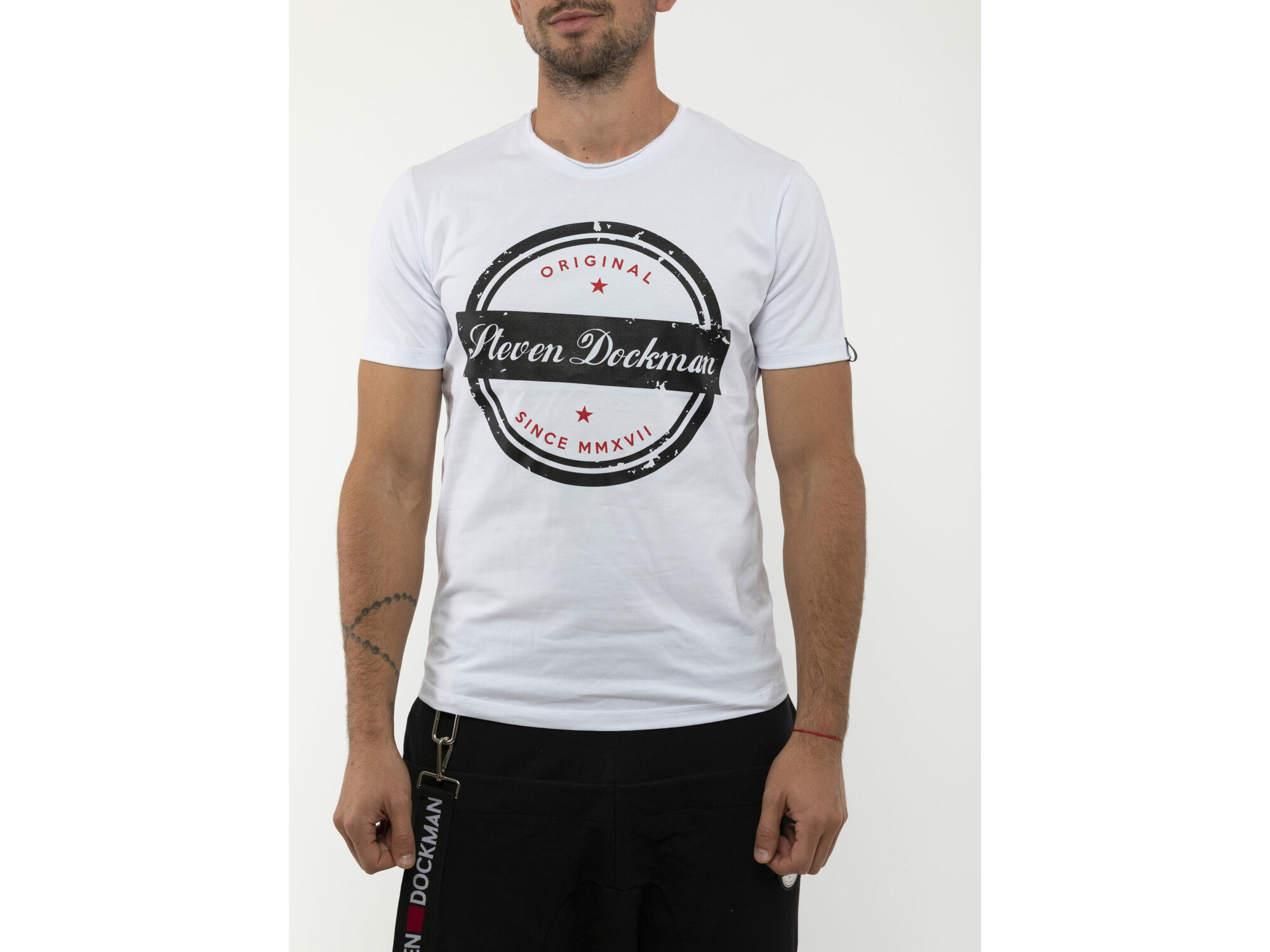 SD Stamp White - Muška majica
