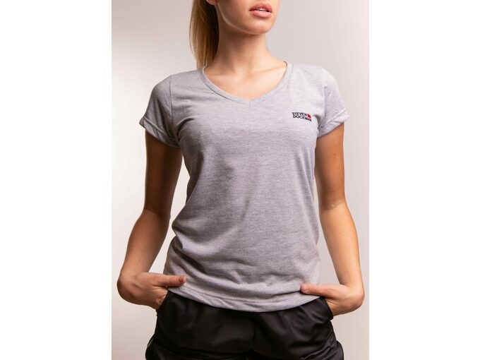 SD Basic woman – silver - Ženska majica