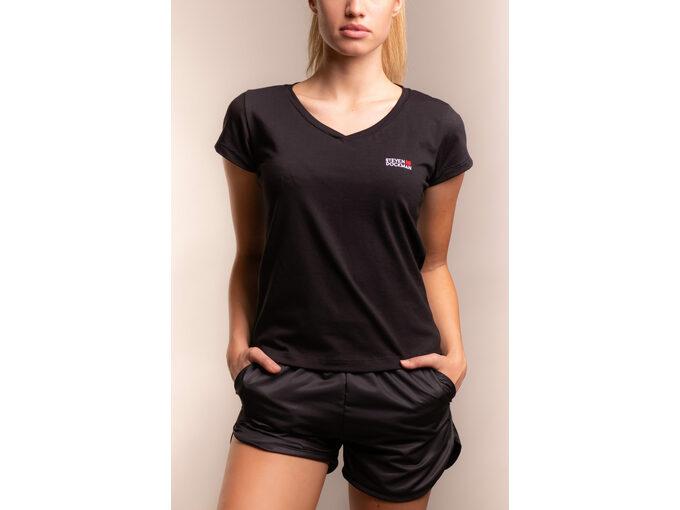 SD Basic woman – Black - Ženska majica