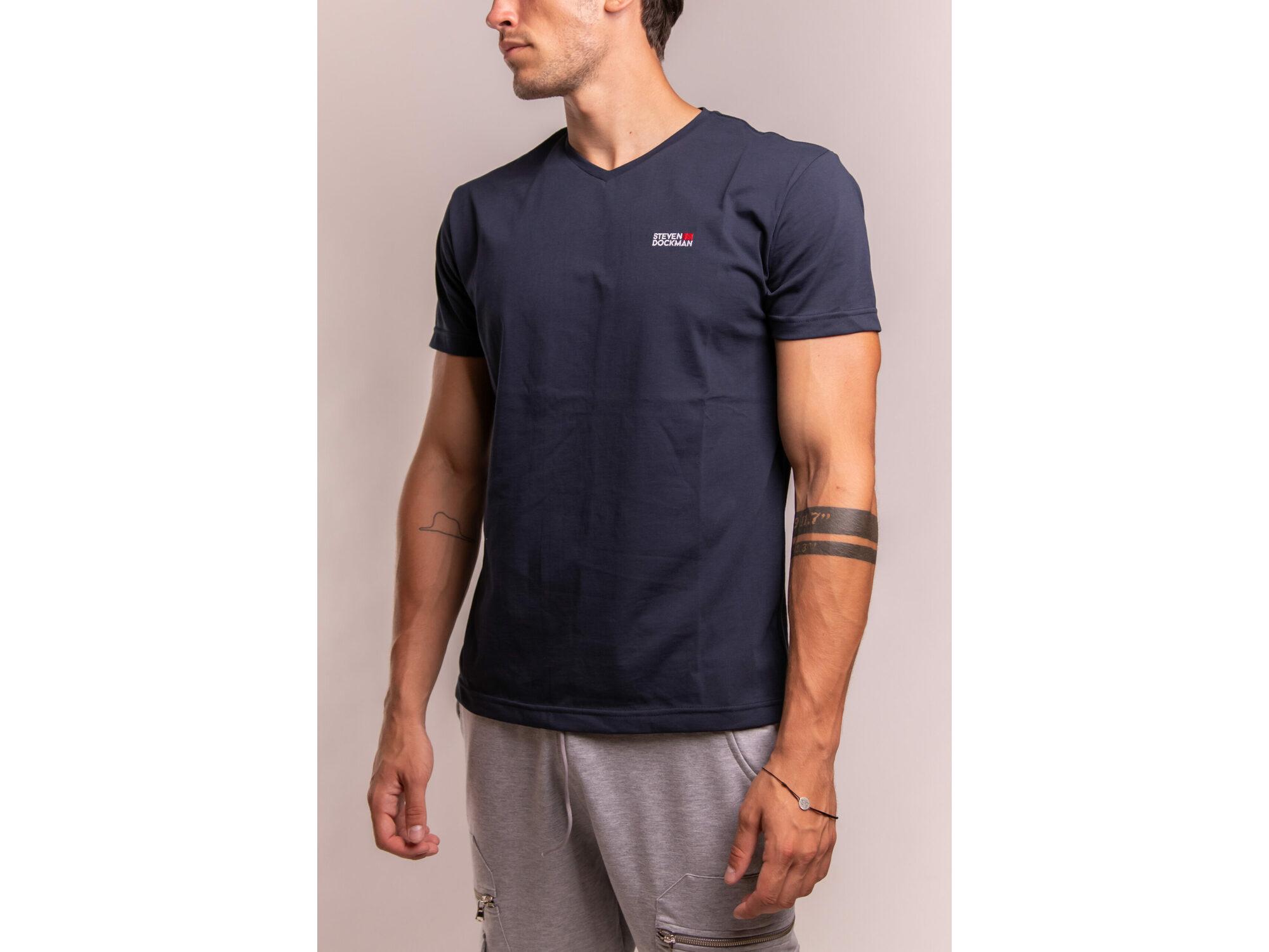 SD Basic man – navy blue - Muška majica