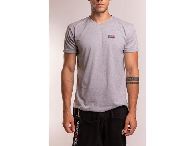SD Basic man – silver - Muška majica