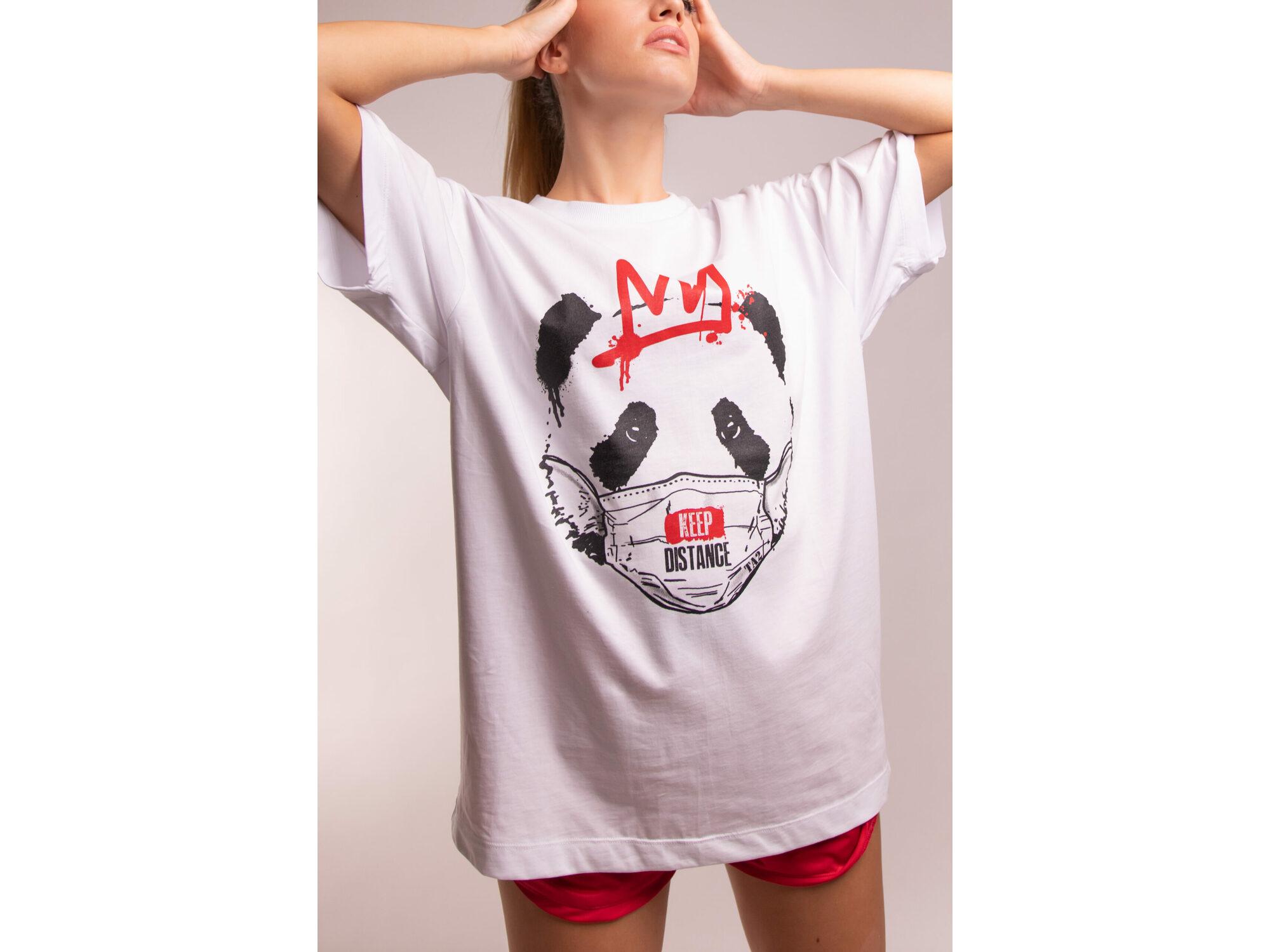 SD Panda White - Ženska majica