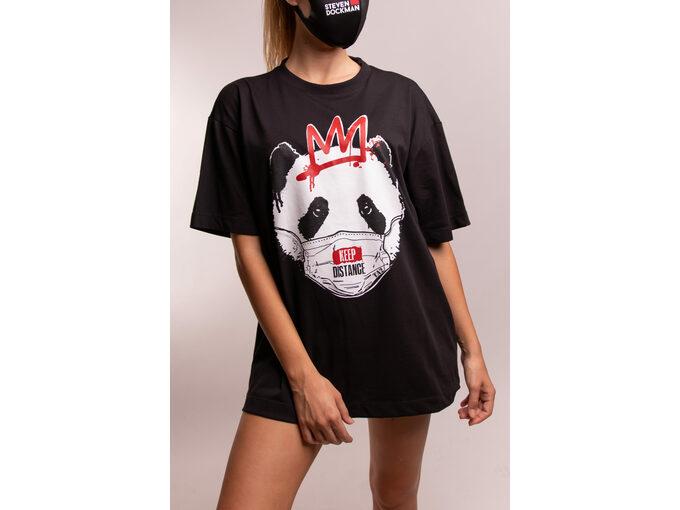 SD Panda Black - Ženska majica