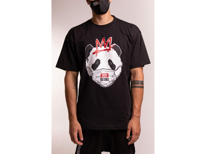 SD Panda Black - Muška majica