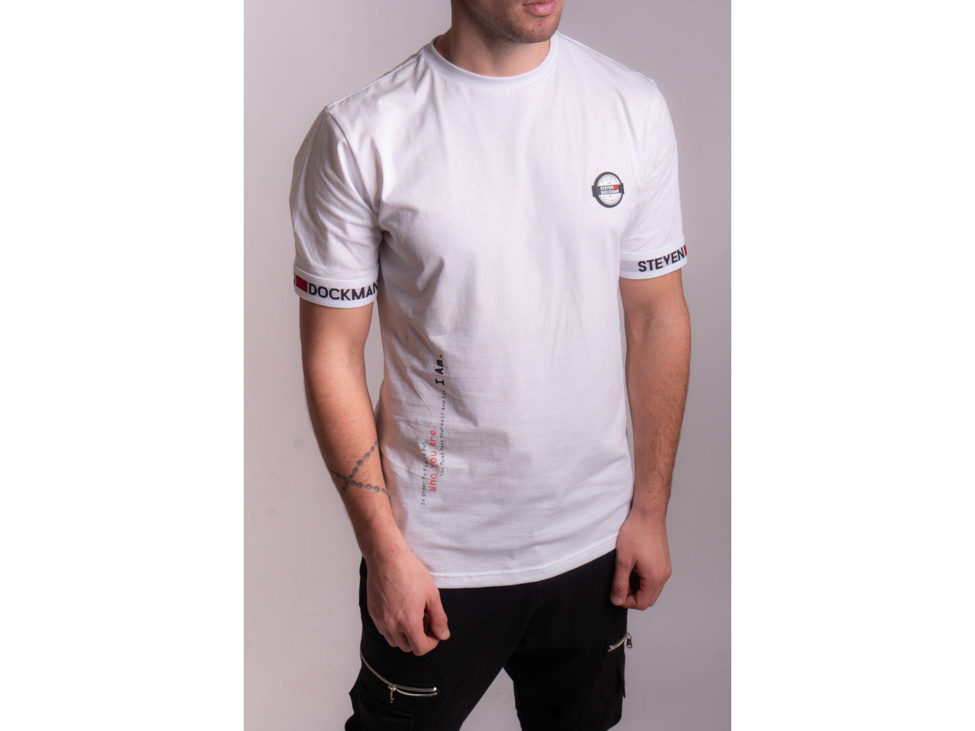 SD Property White - Muška majica