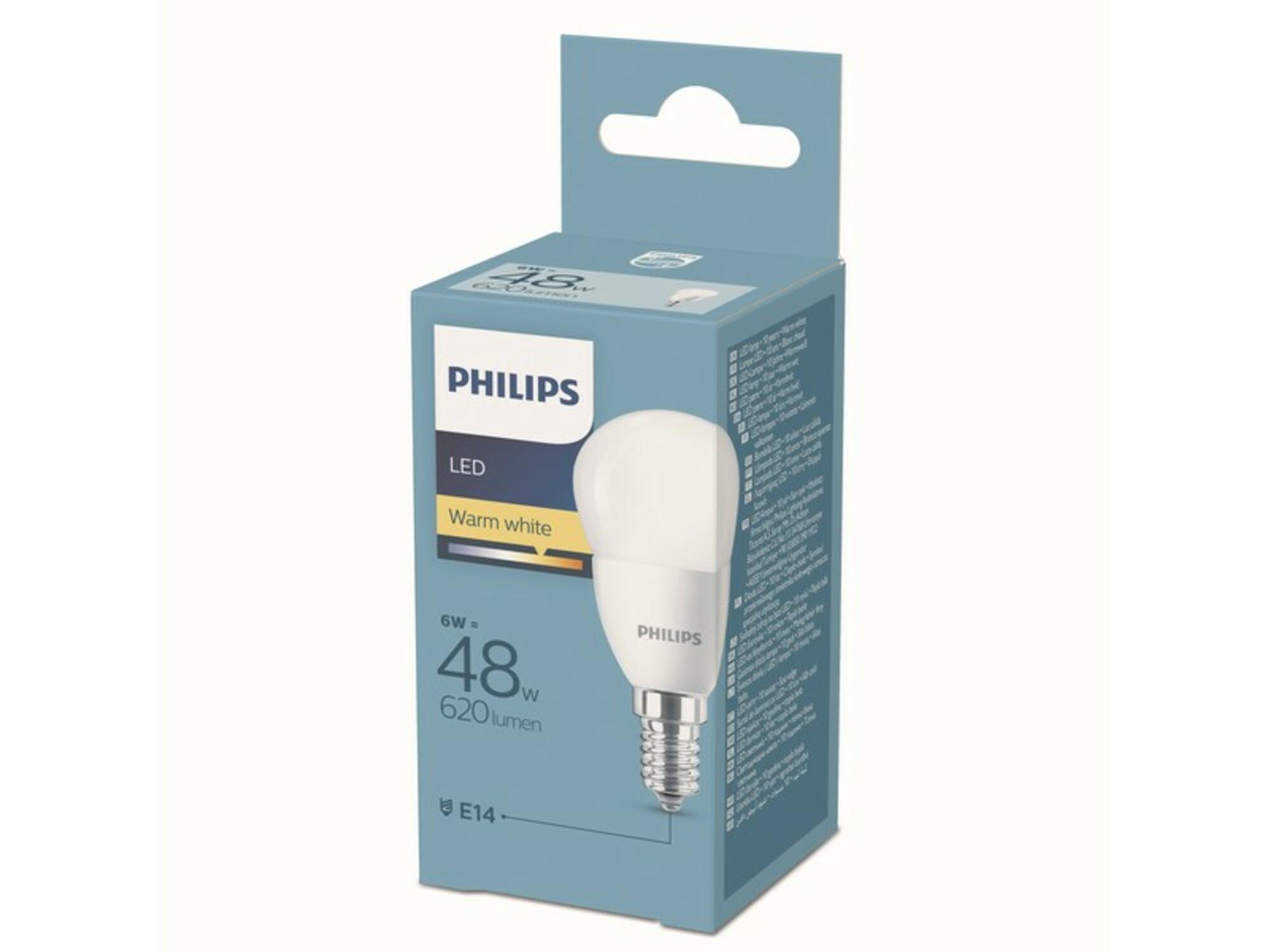 Philips Led Sijalica, Grlo E14 P45, Snaga 6W (48W) Ps672