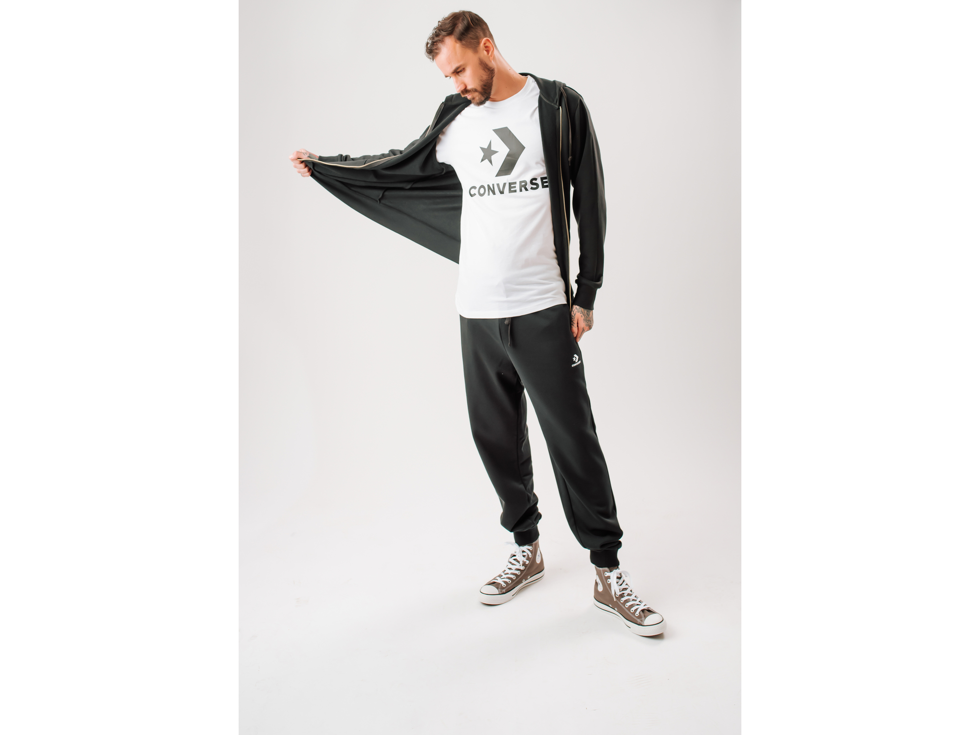 Converse Muška majica Star chevron tee 10018568-A02